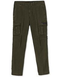 Cargo Trousers Verde Scuro