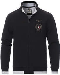 Full Zip Sweatshirt Jet Black