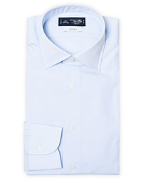 Slim Fit Pinpoint Oxford Shirt Light Blue