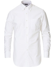 Slim Fit Oxford Button Down Shirt White