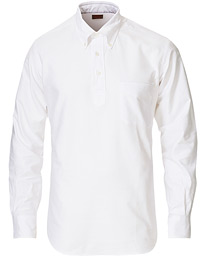 Vintage Ivy New York Popover Shirt White