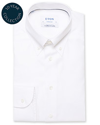 Contemporary Fit Royal Oxford Button Down Shirt White