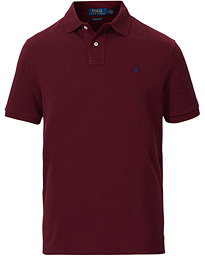 Polo Ralph Lauren Custom Slim Fit Polo Classic Wine