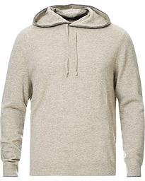 Washable Cashmere Hoodie Dark Sport Heather