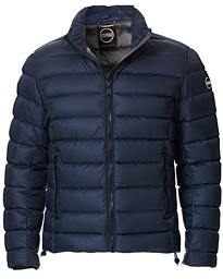 Concrete Down Detachable Hooded Jacket Navy