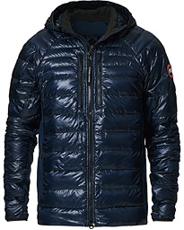 Hybridge Lite Hooded Jacket  Atlantic Navy