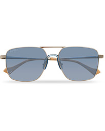 GG0743S Sunglasses Silver/Blue