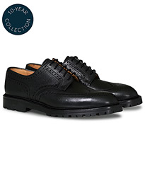 Pembroke Scotch Grain Vibram Black Calf