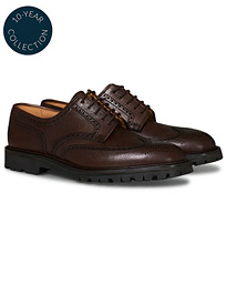 Pembroke Scotch Grain Vibram Dark Brown