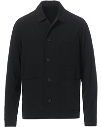 Worker X Shirt Jacket Black