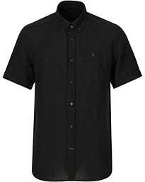 Douglas Corduroy Button Down Shirt Black