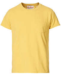 1950´s Sportswear Crew Neck Tee Misted Yellow