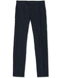 Winch Cotton/Linen Trousers Navy
