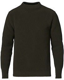 Organic Cotton Crew Neck Hunting Green