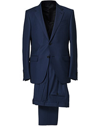 Milano Easy Wool Suit Navy Blue