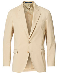 Garment Dyed Cotton Sportcoat Tan