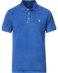 Custom Fit Spa Terry Polo Bright Navy