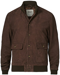 Valstarino Suede Jacket Dark Brown