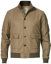 Valstarino Water Repellent Cotton Jacket Olive