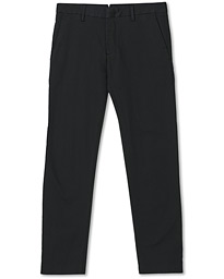 Theo Regular Fit Stretch Chinos Black