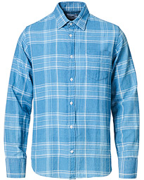 Errico Check Shirt Indigo