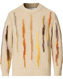 Rick Knitted Crew Neck Sand