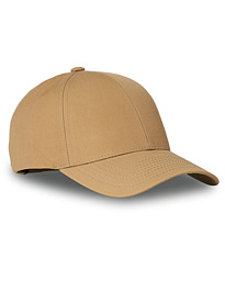 Cotton Baseball Cap Sand Beige