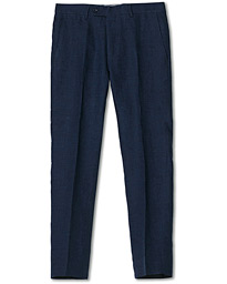 Rodney Linen Trousers Navy