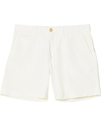 Light Twill Shorts Off White