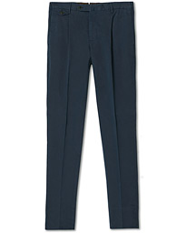 Gentleman Fit Cotton Trousers Navy