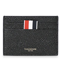 Pebble Grain Card Holder Black