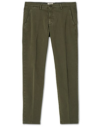 Slim Fit Cotton Chinos Olive