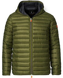 Donald Lightweight Padded Hooded Jacket Dusty Olive