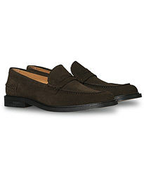Townee Loafer Dark Brown Suede