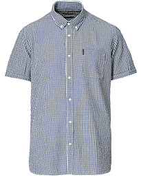 Gingham 8 Shirt Inkyn Blue