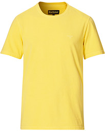 Garment Dyed Crew Neck Tee Sunbleached Yellow