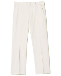 Sharp Cotton Trousers Sand