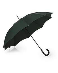 Hardwood Automatic Umbrella Racing Green