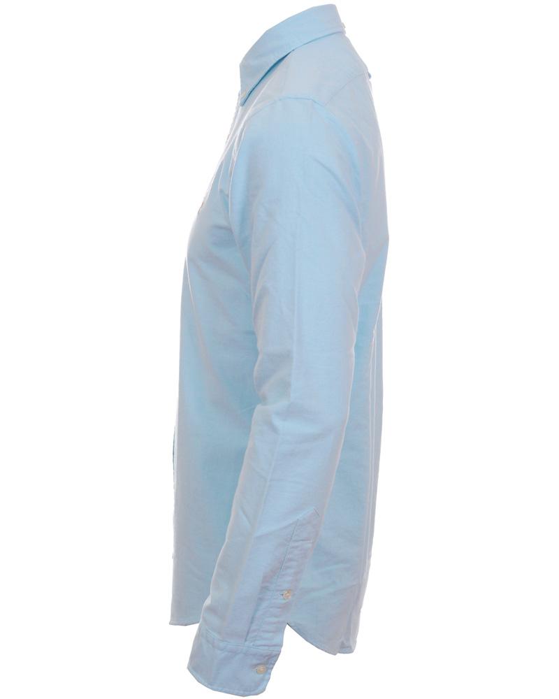 a04ef7a40 Polo Ralph Lauren Slim Fit Shirt Oxford Aegean Blue hos CareOfCa
