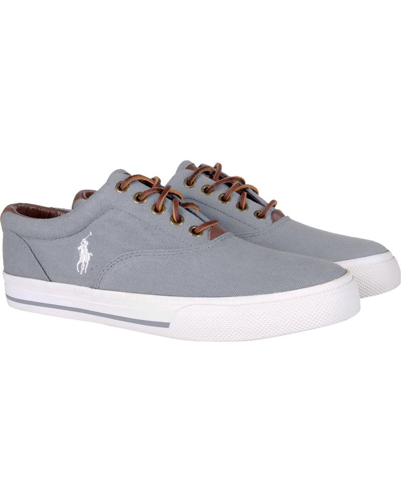 Polo Ralph Lauren Vaughn NE Sneaker Grey hos CareOfCarl.dk