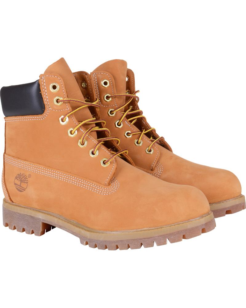 dd16a2293017 Timberland 6 Inch Premium Boot Wheat hos CareOfCarl.dk