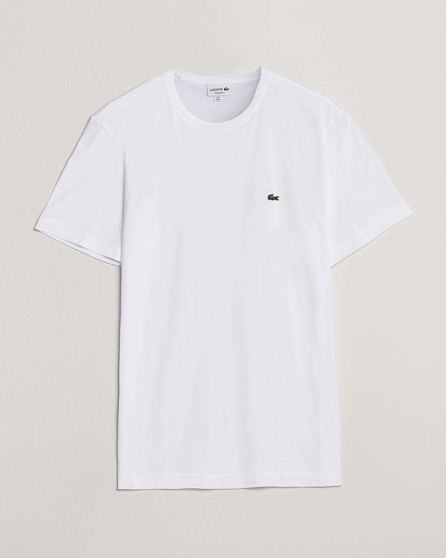 2a1609a74dc Lacoste T-Shirt White hos CareOfCarl.dk