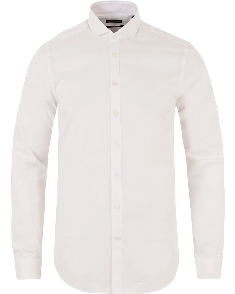 d7a20e11ab6 Tiger of Sweden Steel 1 Shirt White hos CareOfCarl.dk