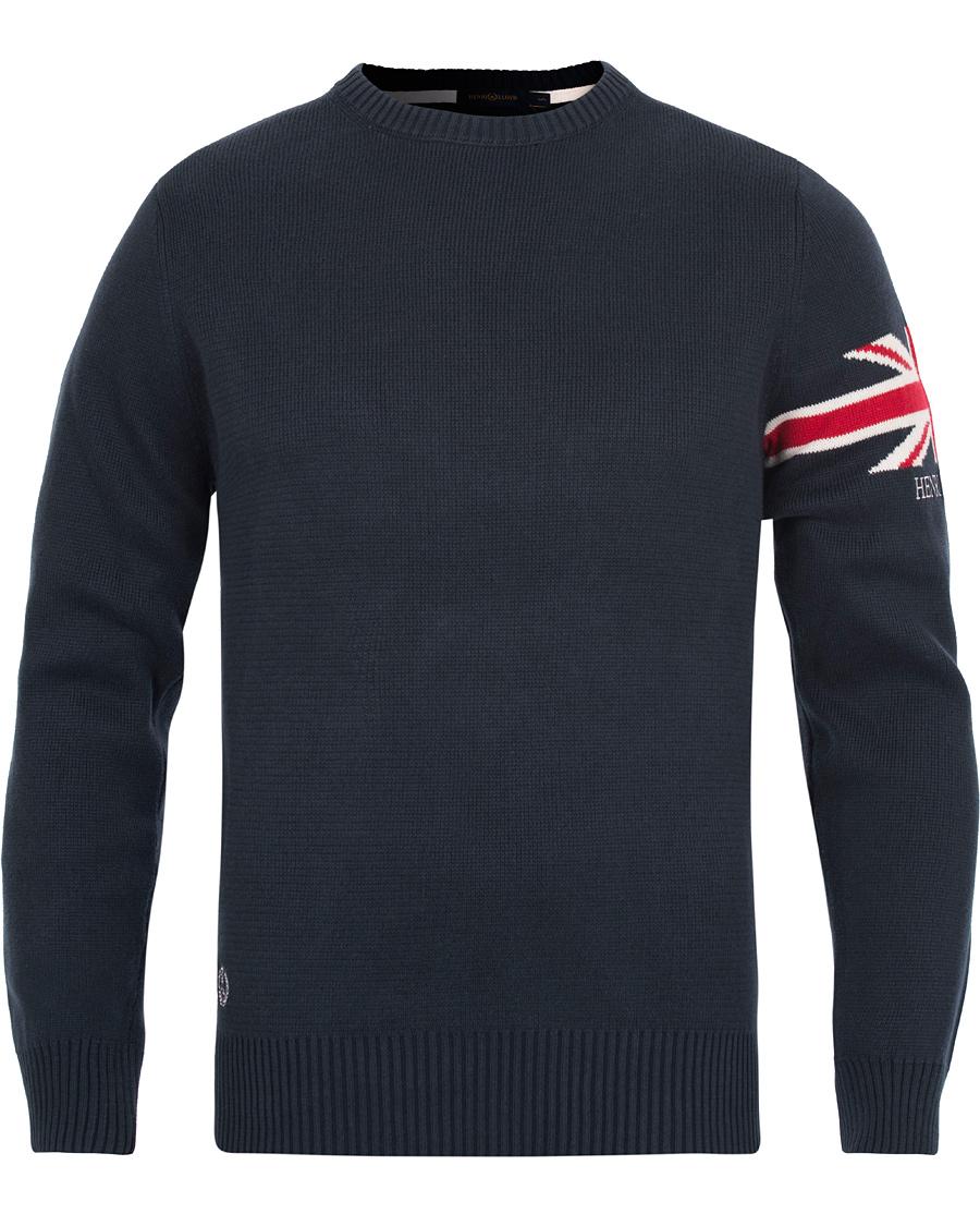 19730748d107 Henri Lloyd Arley Regular Crew Neck Knit Sweater Navy hos CareOfC