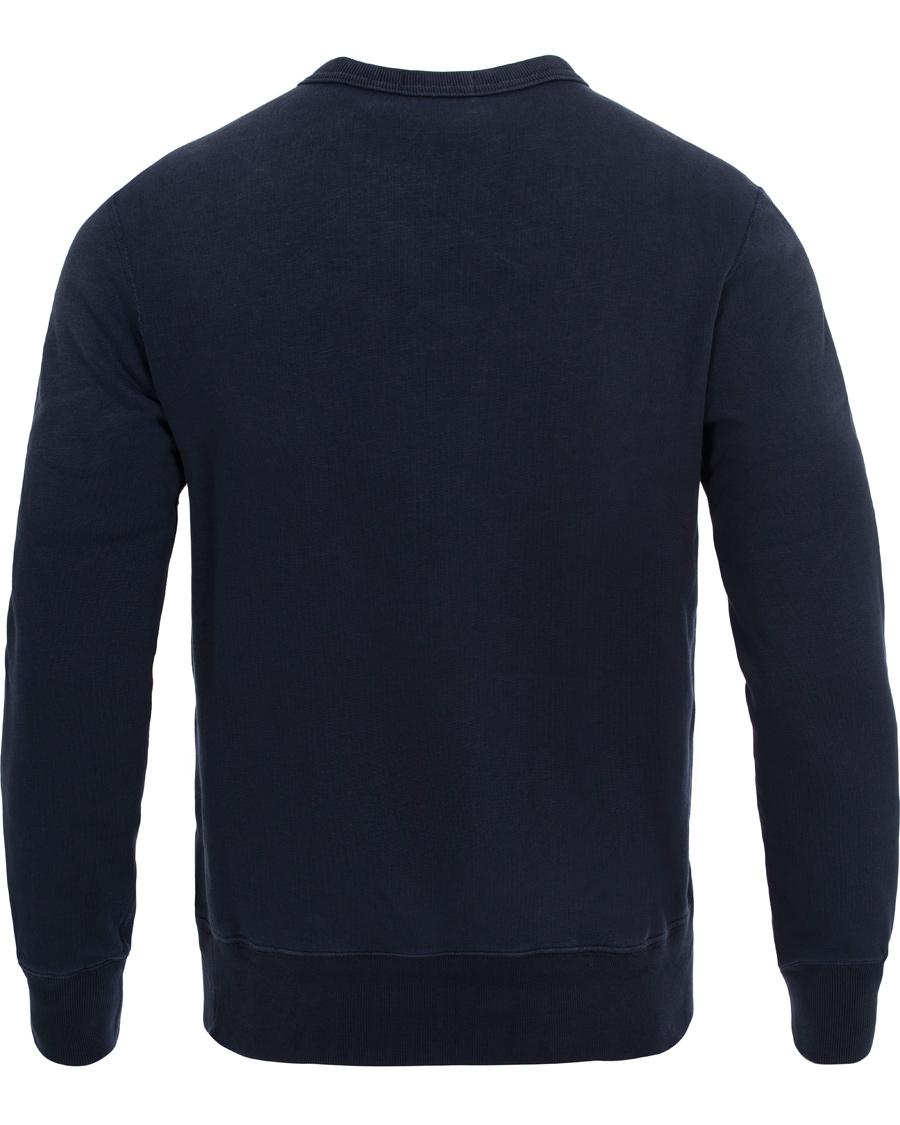 Polo Ralph Lauren Crew Neck Vintage Fleece Sweatshirt Navy