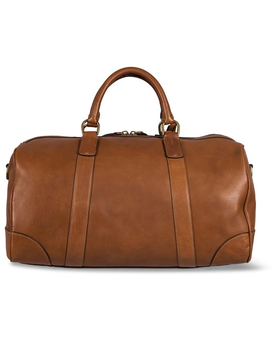 3191ba73a736 Polo Ralph Lauren Duffle Leather Bag Congac hos CareOfCarl.dk