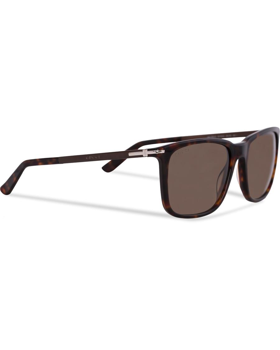 22475ad8cd1 Gucci GG 1104 S Sunglasses Havana hos CareOfCarl.dk