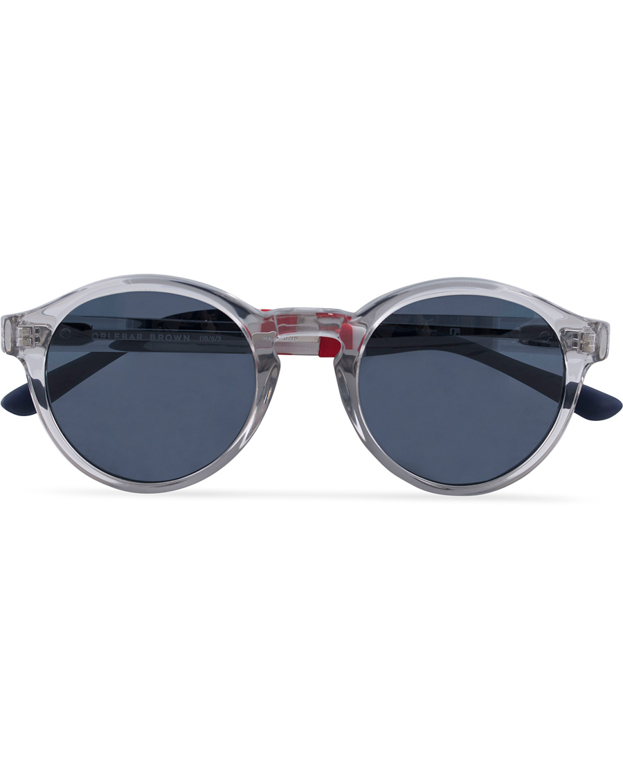 e71d14e095f8 Orlebar Brown OB6C3SUN Sunglasses Clear Dark Blue hos CareOfCarl