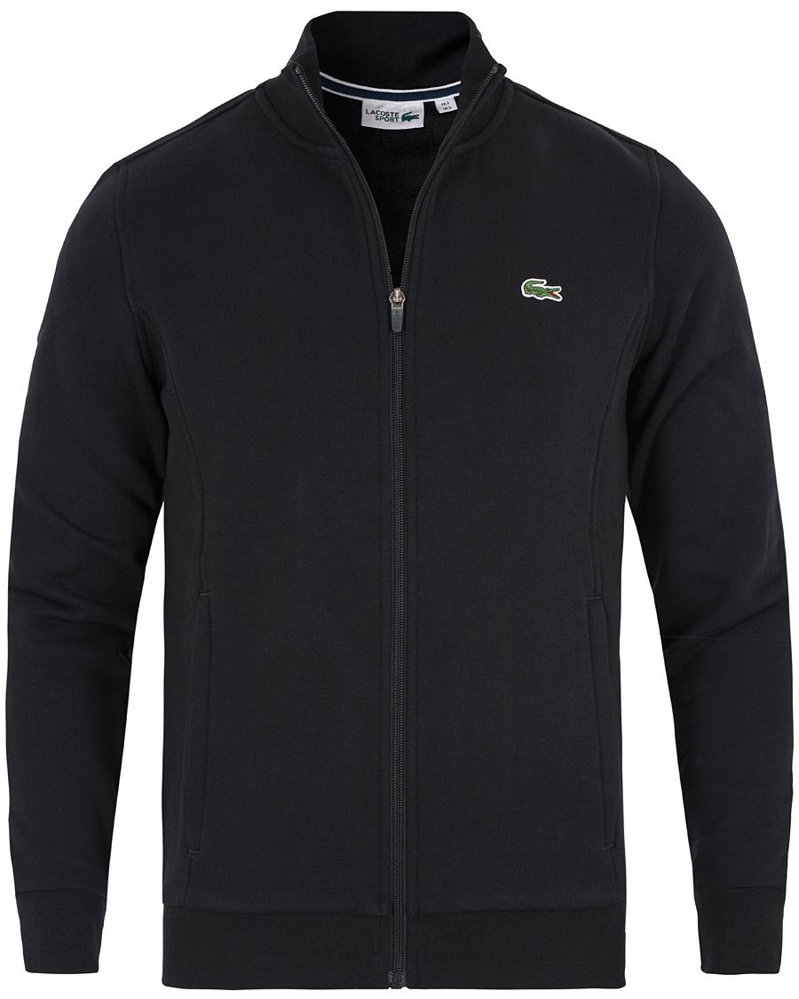 364cc799b9d Lacoste Full Zip Sweater Black hos CareOfCarl.dk