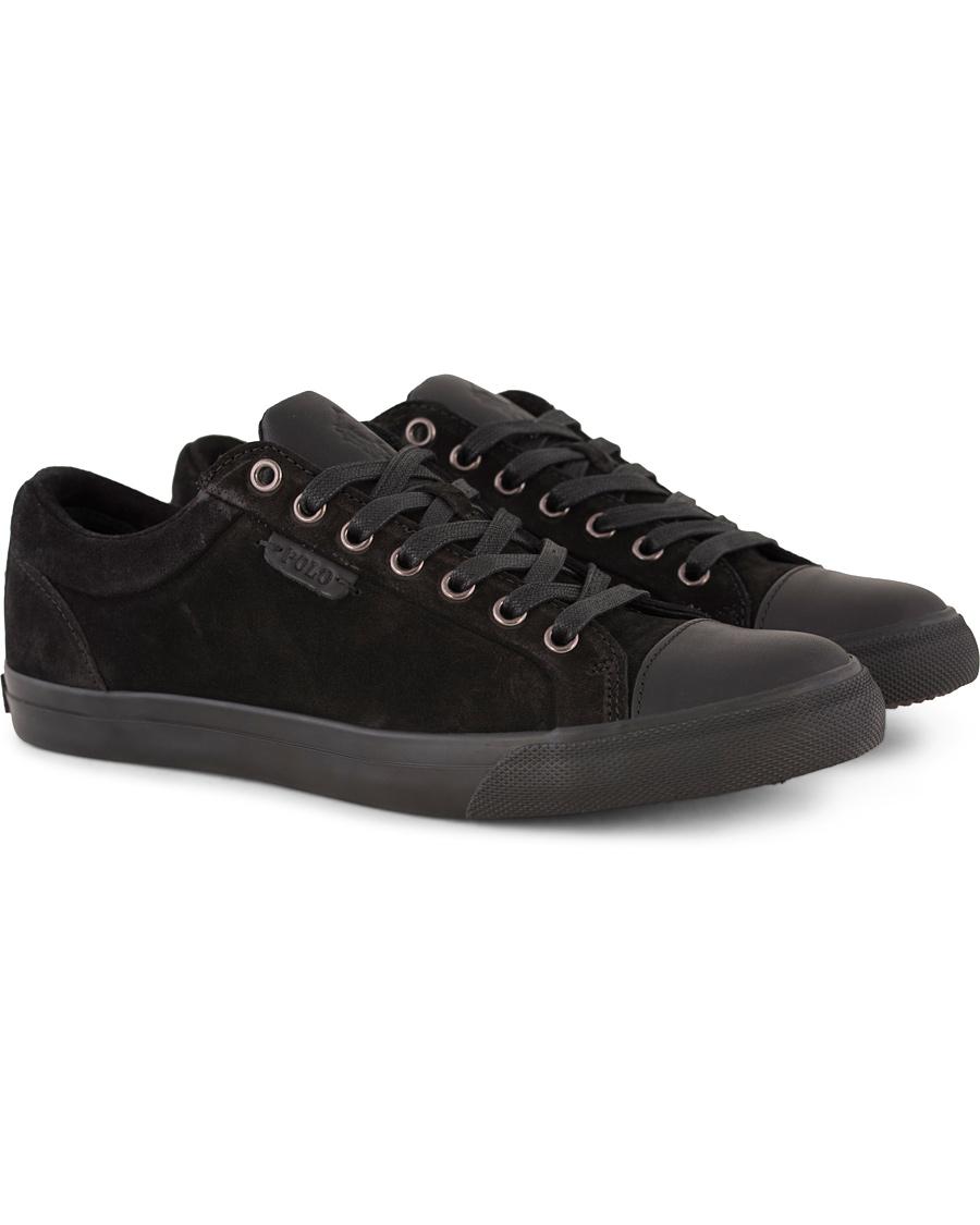 Forbid Labor send  Polo Ralph Lauren Geffrey Sneaker Black/Black hos CareOfCarl.dk